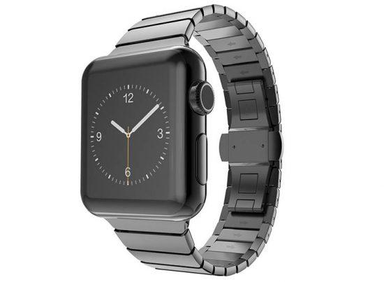curea din metal apple watch 4 cu zale late