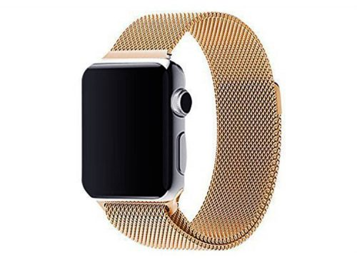 bratara apple watch 4 gold auriu