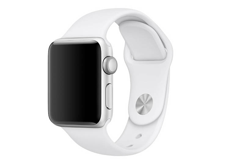 bratara silicon apple watch alba