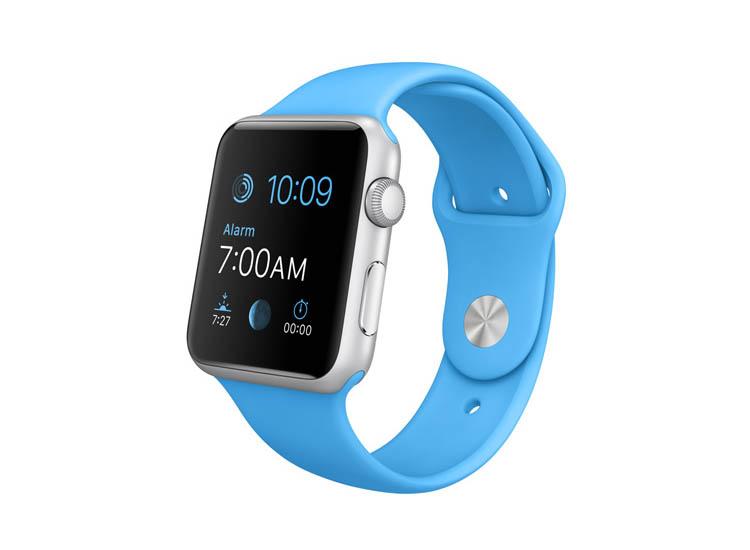 curea albastra apple watch
