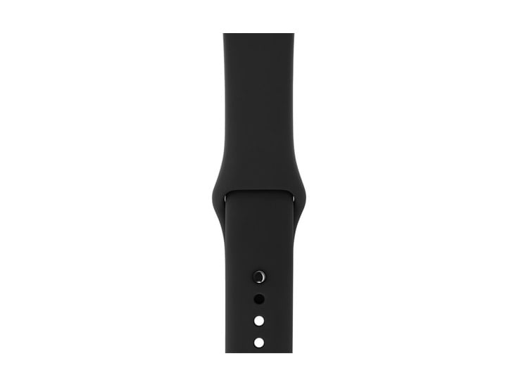 curea silicon sport neagra apple watch
