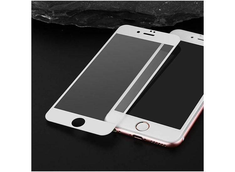 folie 3d iphone 7 plus alb
