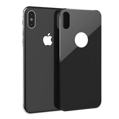 folie sticla spate neagra apple iphone x