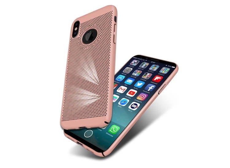 husa rose gold iphone x