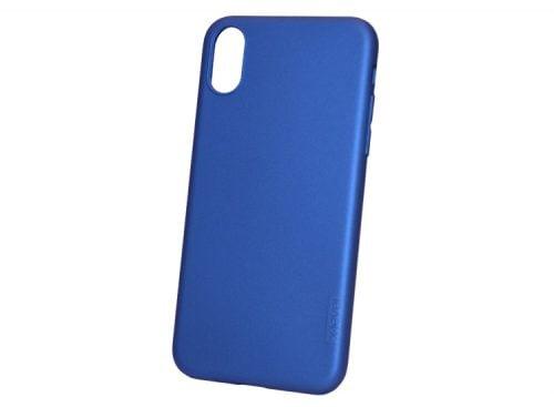 husa albastra din silicon apple iphone x