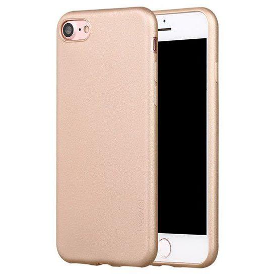 husa silicon auriu iphone 6s