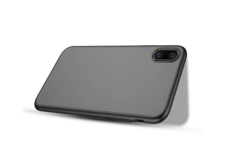 husa neagra iphone x