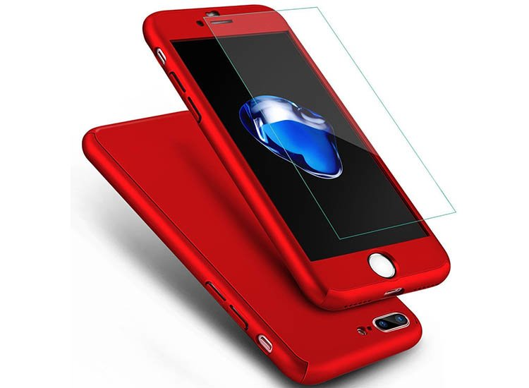 husa full body 360 iphone 7 rosie