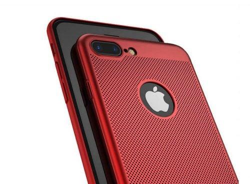 husa subtire rosie iphone 6 plus