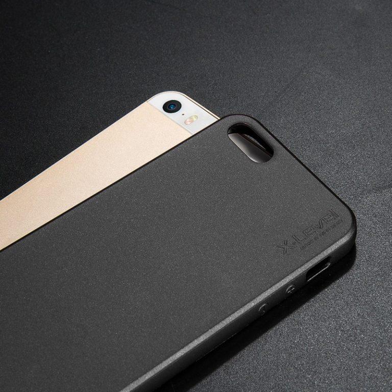 husa neagra silicon iphone 5 5s