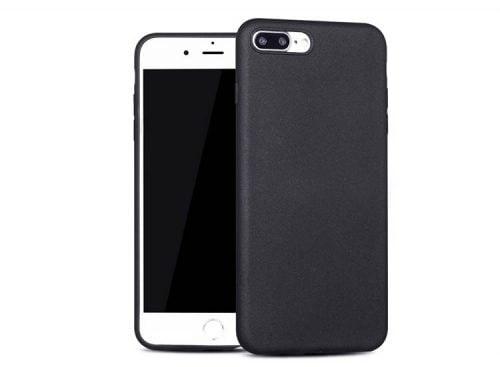 husa silicon negru apple iphone 7 plus