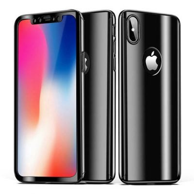 husa full body 360 iphone x