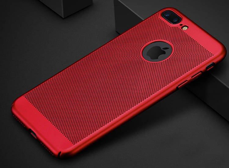 husa subtire rosie iphone 6s plus