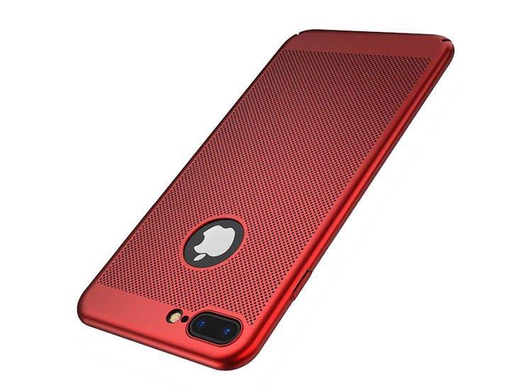 husa perforata rosie iphone 6 6s plus