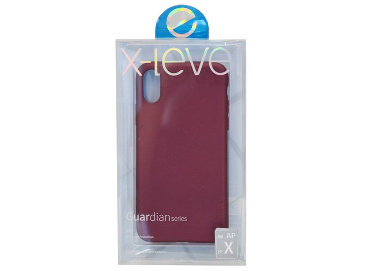 husa x-level iphone xs silicon