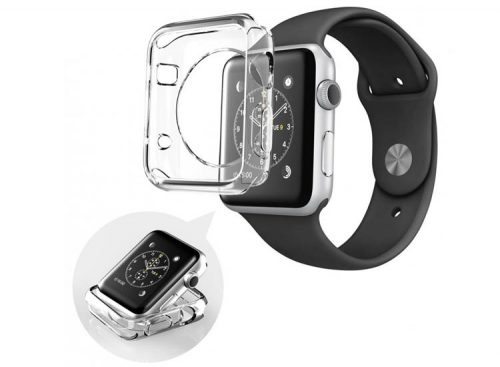 husa transparenta apple watch