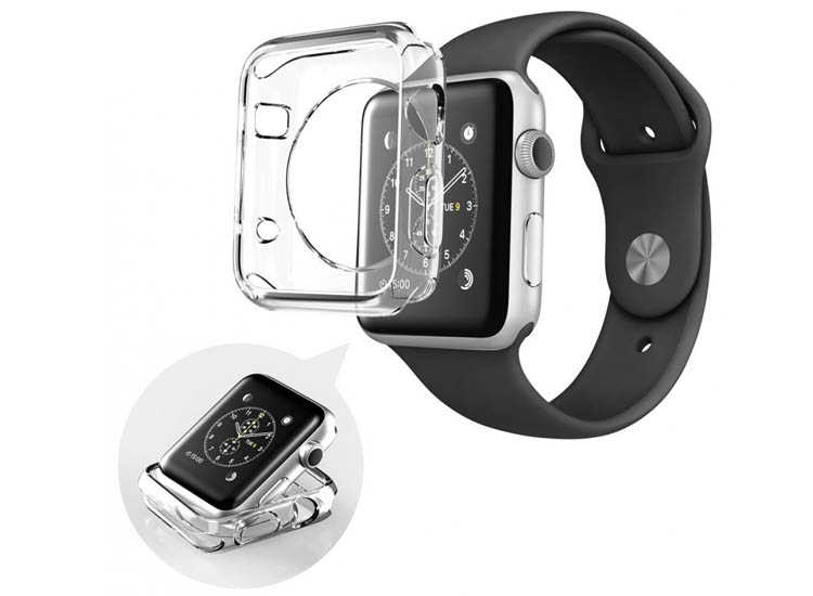 husa transparenta apple watch