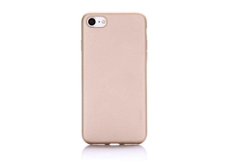 husa apple iphone 7 silicon gold