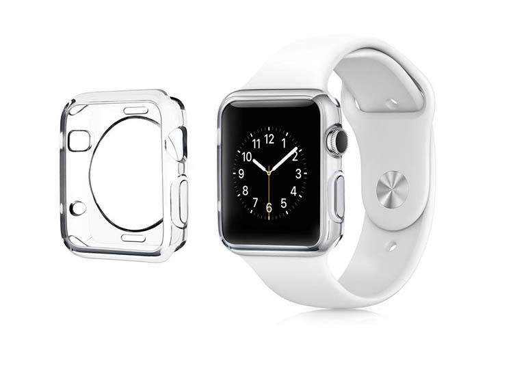 husa clara apple watch