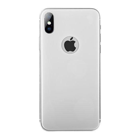 folie protectie spate alba iphone x
