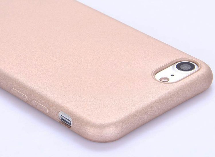 husa silicon auriu iphone 6