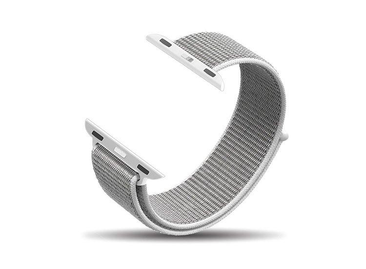 bratara material textil apple watch 38 40 44 42 mm