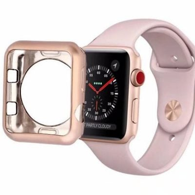 carcasa protectie din silicon apple watch