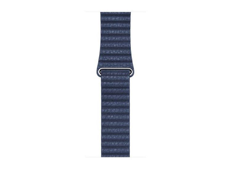 Curea piele midnight blue pentru Apple Watch
