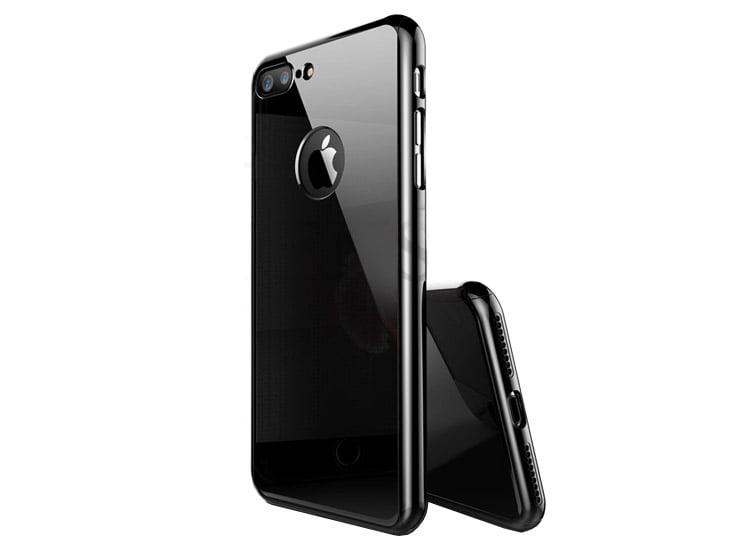 husa negru lucios apple iphone 7 8
