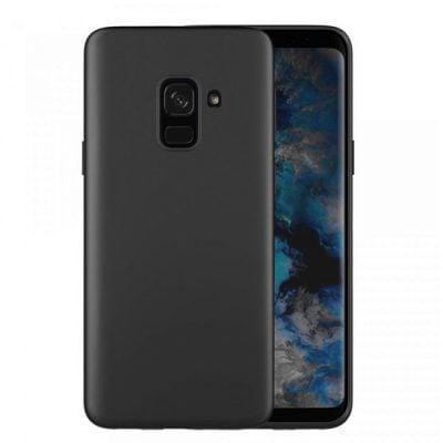husa silicon negru samsung a6 2018