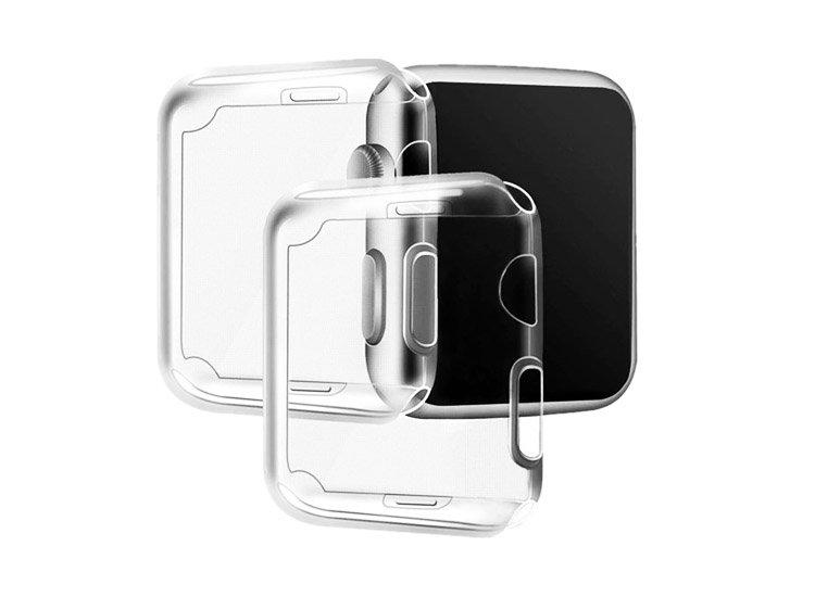 husa apple watch pentru ecran silicon