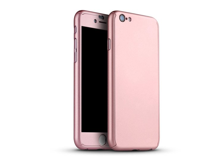 husa roz iphone 7 8 tip fullbody