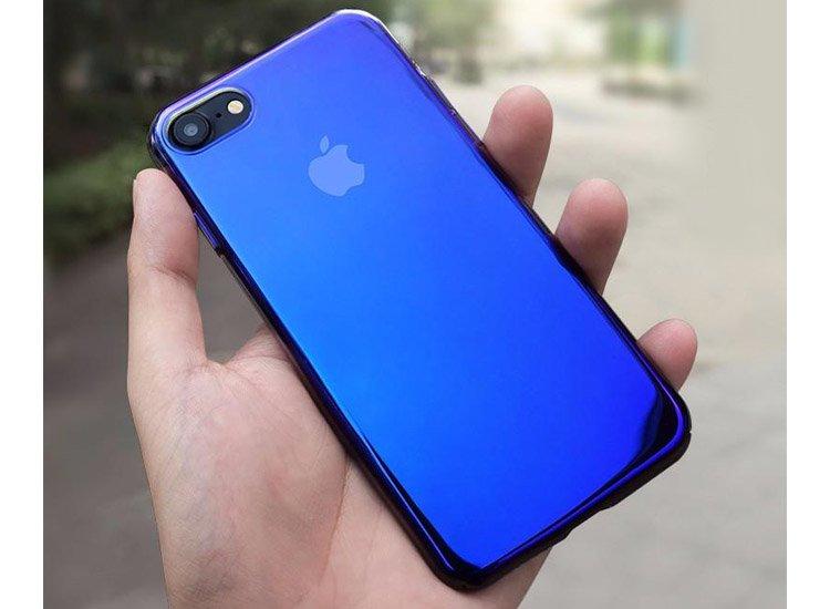 husa albastra iphone 7 plus