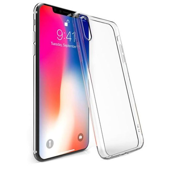 husa simpla din silicon apple iphone xr
