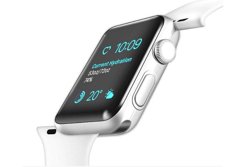 husa silicon apple watch 4