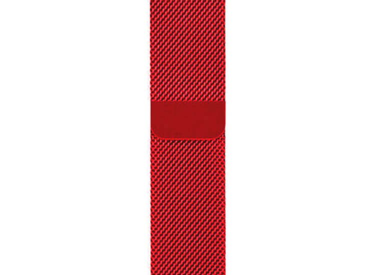 red apple watch band