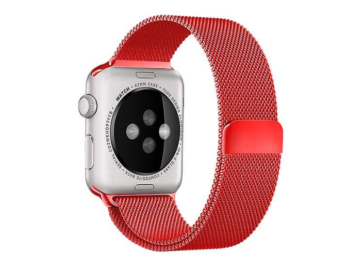 curea apple watch rosu milanese loop
