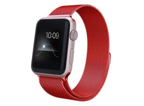 curea milaneza apple watch red