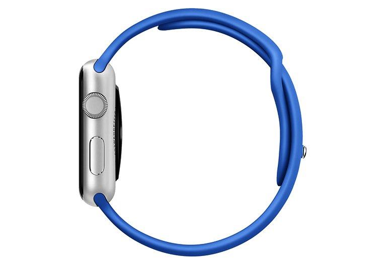 bratara albastra apple watch