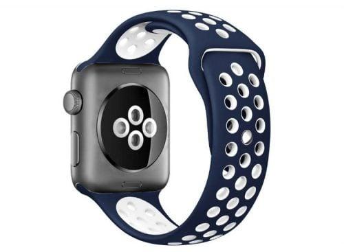 curea sport apple watch albastra