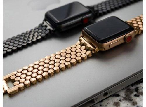 bratara gold apple watch