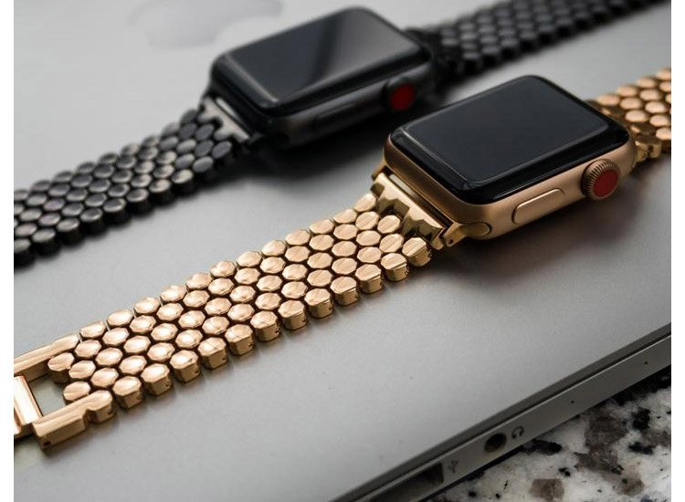 bratara gold apple watch